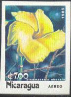 NICARAGUA (1985) Stemmadenia Obovata. Imperforate. Scott No 1459, Yvert PA1092. - Nicaragua