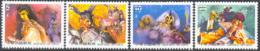CHINA (TAIWAN) (2001) Puppet Theater. Set Of 4 Specimens. Scott Nos 3392-5. - 1945-... République De Chine