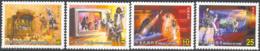 CHINA (TAIWAN) (2003) Puppet Theater. Set Of 4 Specimens. Scott Nos 3480-3. - 1945-... République De Chine