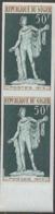 NIGER (1973) Apollo Belvedere. Imperforate Pair. Scott No 290, Yvert No 296. - Niger (1960-...)