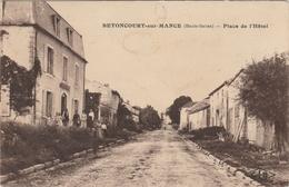 Haute Saône.  Betoncourt-sur-Mance.  Place De L ' Hôtel. - Francia