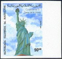 MAURITANIA (1985) Statue Of Liberty. Imperforate. Scott No 584, Yvert No 569. - Mauritania (1960-...)