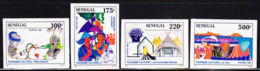 SENEGAL (1995) Tourist Attractions. Set Of 4 Imperforates.  Scott Nos 1191-4, Yvert No 1157-60. - Senegal (1960-...)