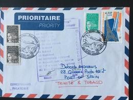 Istres Armées 2001 Meeting Base Aérienne 125 Retour à L'envoyeur - Postmark Collection (Covers)