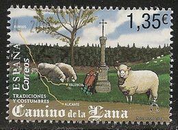 2018-ED. 5244 COMPLETA- Tradiciones Y Costumbres. Camino De La Lana -USADO- - 1931-Oggi: 2. Rep. - ... Juan Carlos I