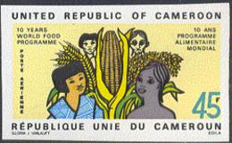 CAMEROUN (1973) World Hunger. Imperforate. Scott No C198, Yvert No PA214. - Cameroon (1960-...)