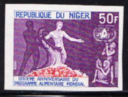 NIGER (1973) Cornucopia. FAO Emblem. Imperforate. 10th Anniversary Of FAO. Scott No C220, Yvert No PA220. - Niger (1960-...)