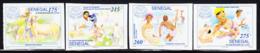 SENEGAL (1995) FAO 50th Anniversary. Set Of 4 Imperforates.  Scott Nos 1174-7, Yvert No 1130-3. - Senegal (1960-...)