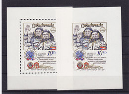 Rumänien Block 39 A I+B I ** - Czechoslovakia
