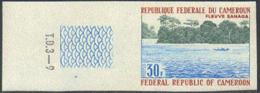 CAMEROUN (1971) Sanaga River. Imperforate. Scott No 523, Yvert No 501. - Cameroon (1960-...)
