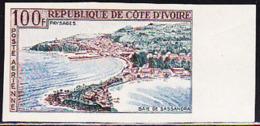 IVORY COAST (1963) Sassandra Bay. Imperforate. Scott No C23, Yvert No PA27. - Ivory Coast (1960-...)