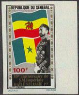 SENEGAL (1972) Haile Selassie. Imperforate. Scott No C114, Yvert No PA120. - Senegal (1960-...)