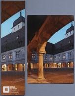 -021-  MUSEE DU TEMPS BESANCON : PALAIS GRANVELLE -  DUO MARQUE PAGE  + CARTE - Bookmarks