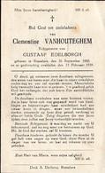 Roeselare, 1939, Clementine Vanhouteghem, Edelborgh - Imágenes Religiosas