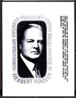 U.S.A. (1965) Herbert Hoover. USPS Publicity Photo Essay. Scott No 1269, Yvert No 786. - United States
