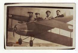 Cpa  Photo  Montage - Aviación