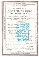 DP Letterkundige Petrus C. Comeyne ° Veurne 1784 † 1850 X F Bauden / Ieper Poperinge Nieuwpoort Rumbeke Oostende FR Nord - Imágenes Religiosas