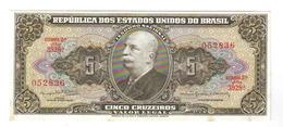 5 CRUZEIROS 1962 - Brazil