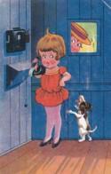 2850129Meisje Met Hond. 1933 (Rechts Boven Een Vouw) - Other