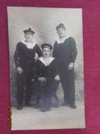 """CPA - Carte-Photo - Toulon - """"Souvenirs De Julien Et Tournus"""" Le 16 Juin 1913 - Toulon"""
