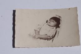 Foto Opgebaard Kind Enfant Mort 1930'/1940' Enterrement Begrafenis - Anonyme Personen