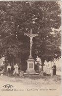 Haute Saône.  Corbenay.  La Chapelle. Croix De Mission. - Francia