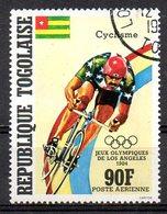 TOGO. PA 503 Oblitéré De 1984. Cyclisme Aux J.O. De Los Angeles. - Ciclismo