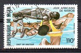 NIGER. N°739 Oblitéré De 1987. Saut En Hauteur. - Atletismo