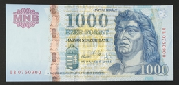 HUNGARY HONGRIE UNGARN 1000 / 1.000 FORINT - 2005 Edition UNC BANKNOTE / King Corvin Matthias FOUNTAIN Visegrád - Hungary