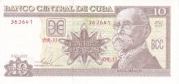 BILLETE DE CUBA DE 10 PESOS DEL AÑO 2015 DE MAXIMO GOMEZ SIN CIRCULAR - UNCIRCULATED  (BANKNOTE) - Cuba