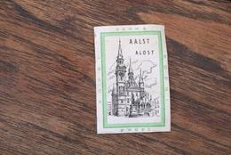 Aalst Luciferetiket Belfort Sarma Nopri 1960' - Matchbox Labels