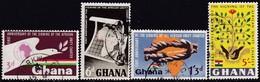 GHANA 1964 SG 339-42 Compl.set Used African Unity Charter - Ghana (1957-...)