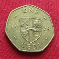 Ghana 1 One Cedi 1979 KM# 19  Gana - Ghana