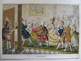 English Plutocratic Circles Caricature  I Serie: Raubstaat England, Sammelwerk Nr. 16 Bild 52 - Trade Cards