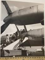 Vintage Photo V. Gailis. Original. Plane. Aeroflot THE USSR. - Aviación