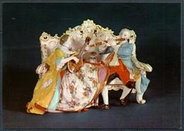 D6440 - TOP Porzellan Manufaktur Meissen Schauhalle - VEB Bild Und Heimat Reichenbach - Fine Arts