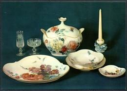 D6443 - TOP Porzellan Manufaktur Meissen Schauhalle - VEB Bild Und Heimat Reichenbach - Fine Arts