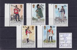 Alderney Nr.23-27 ** - Alderney