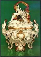 D6444 - TOP Porzellan Manufaktur Meissen Schauhalle - VEB Bild Und Heimat Reichenbach - Fine Arts