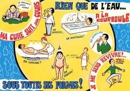 CPM Grand Format - 63 - La Bourboule - Rien Que De L'eau Sous Toutes Ses Formes - Carte Humoristique - La Bourboule