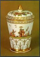 D6445 - TOP Porzellan Manufaktur Meissen Schauhalle - VEB Bild Und Heimat Reichenbach - Fine Arts