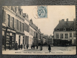 BERGUES Petite Place Mme D'hieux Débit De Tabacs - Bergues
