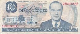 BILLETE DE COSTA RICA DE 10 COLONES AÑO 1985  (BANKNOTE) - Costa Rica