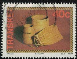 Transkei 1989 Oblitéré Used Artisanat Basketry Vannerie SU - Transkei