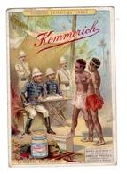 Chromos Kemmerich, Colonialisme - Trade Cards