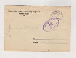 CROATIA WW II  1944 Concentration Camp JASENOVAC Stationery - Croatia