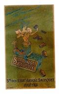 Rare Chromo Sardines Saupiquet, Nantes - Trade Cards