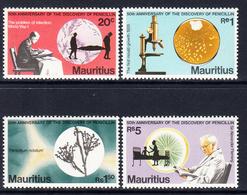 1978 Mauritius Fleming Penicillin Health Medicine  Complete Set Of 4 MNH - Maurice (1968-...)
