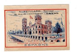 Chromo Expo 1900, Espagne, Veiliard, Tailleur, Laval - Trade Cards