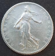 FRANKRIJK: PRACHTIGE 1 FRANC 1918  KM 844.1 ZILVER - H. 1 Franc